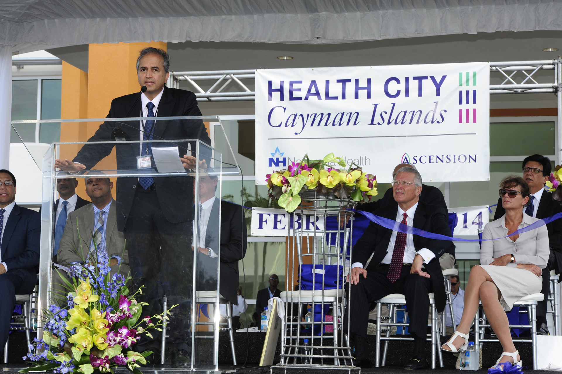 Dr Devi Shetty at Health City Cayman Islands Grand Opening (2)