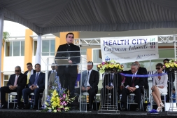 Archbishop Vigneron at Health City Cayman Islands Grand Opening