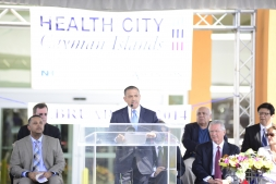 Mark Scotland, Health City Cayman Islands Grand Opening