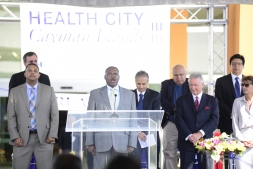 Rudy Myles, Health City Cayman Islands Grand Opening