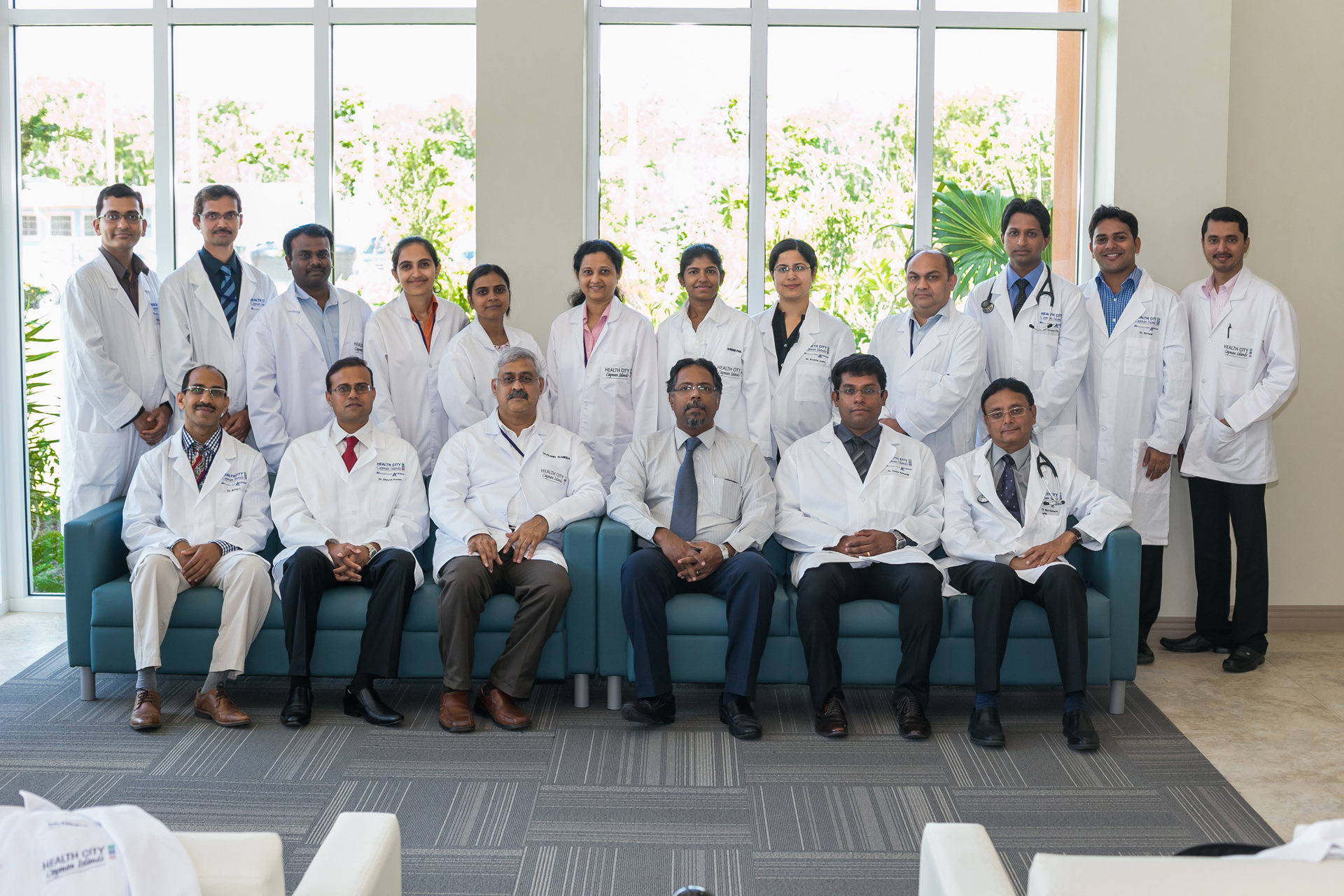 Health City Cayman Islands Medical Team