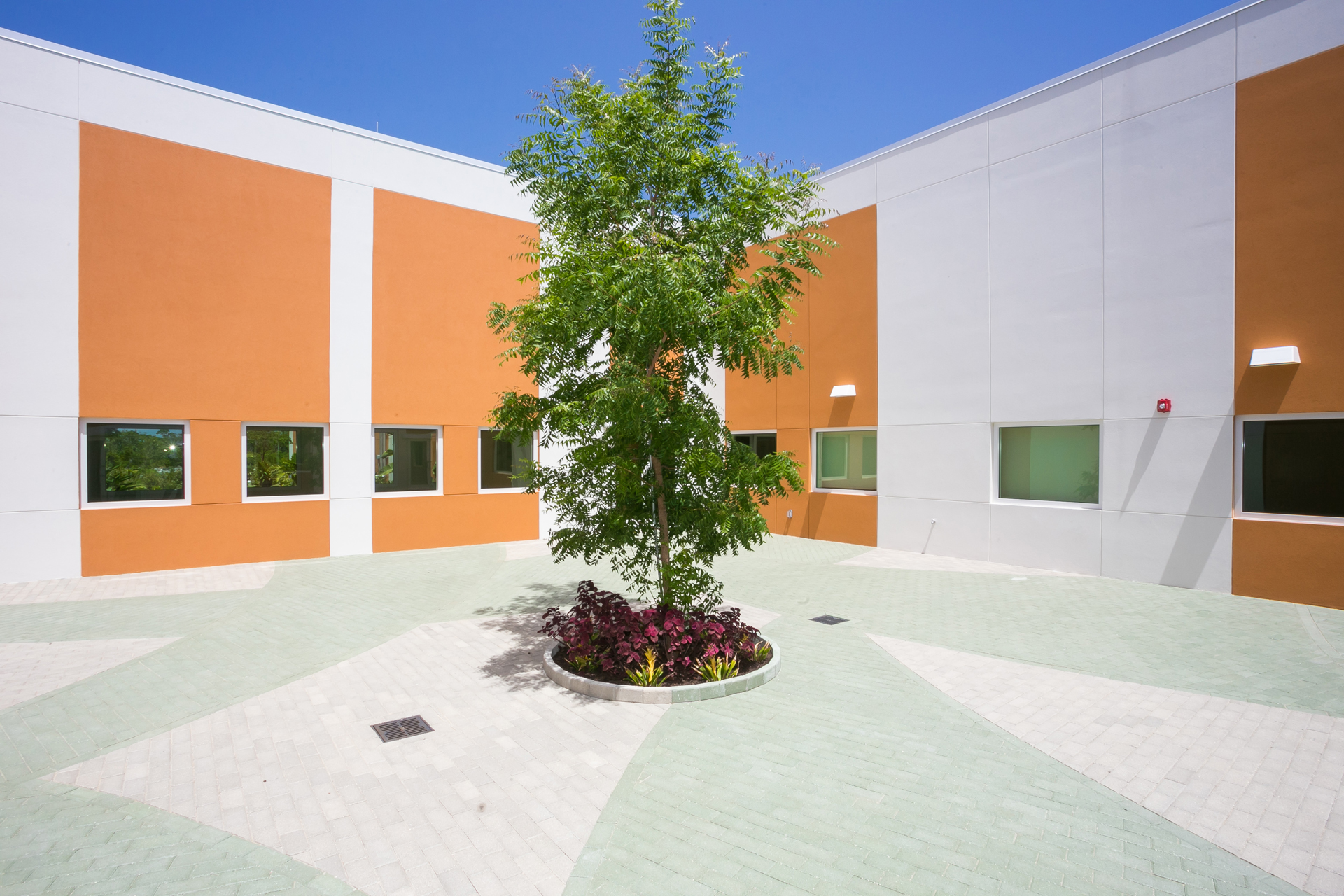 Health City courtyard