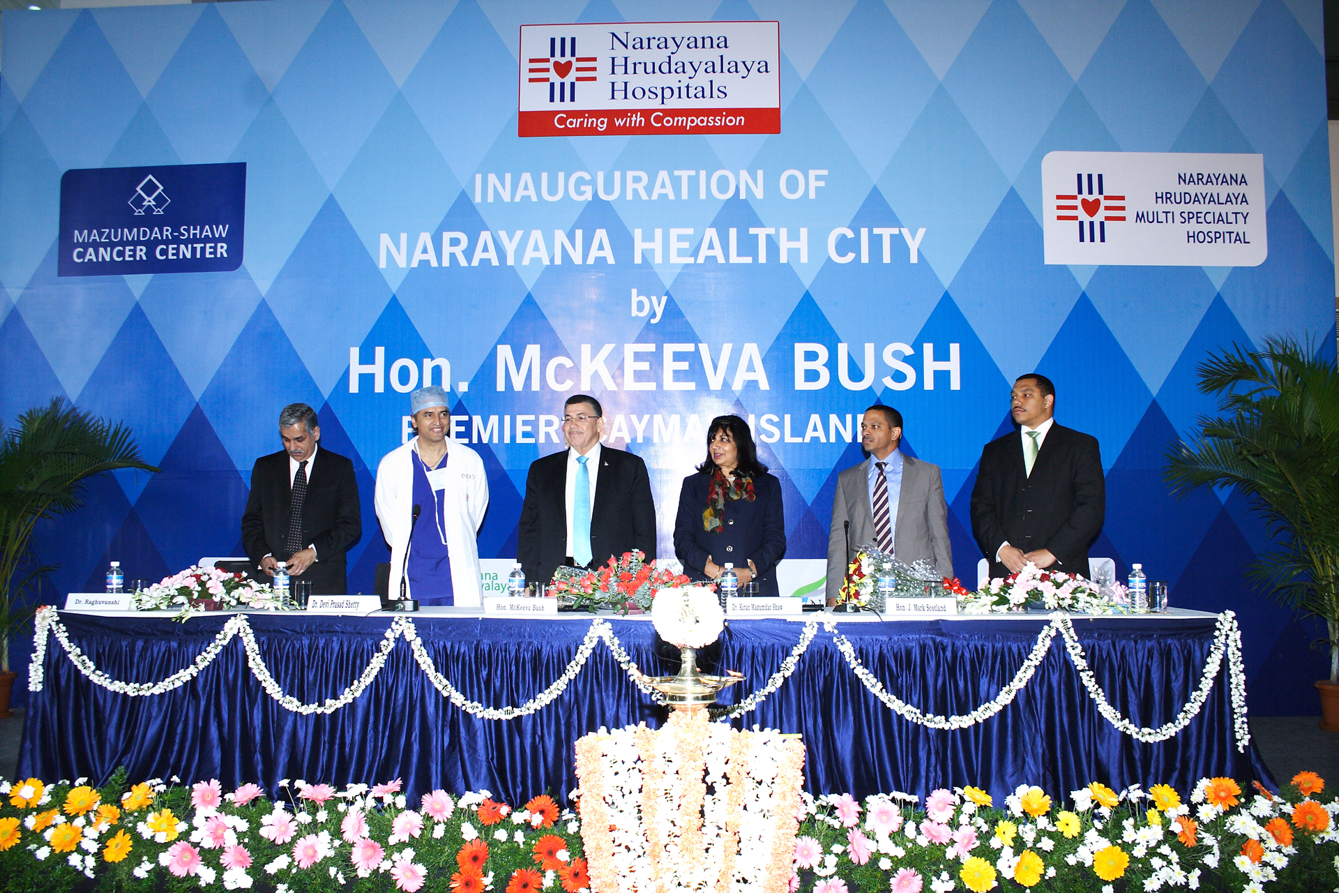 Inauguration of Health City Cayman Islands