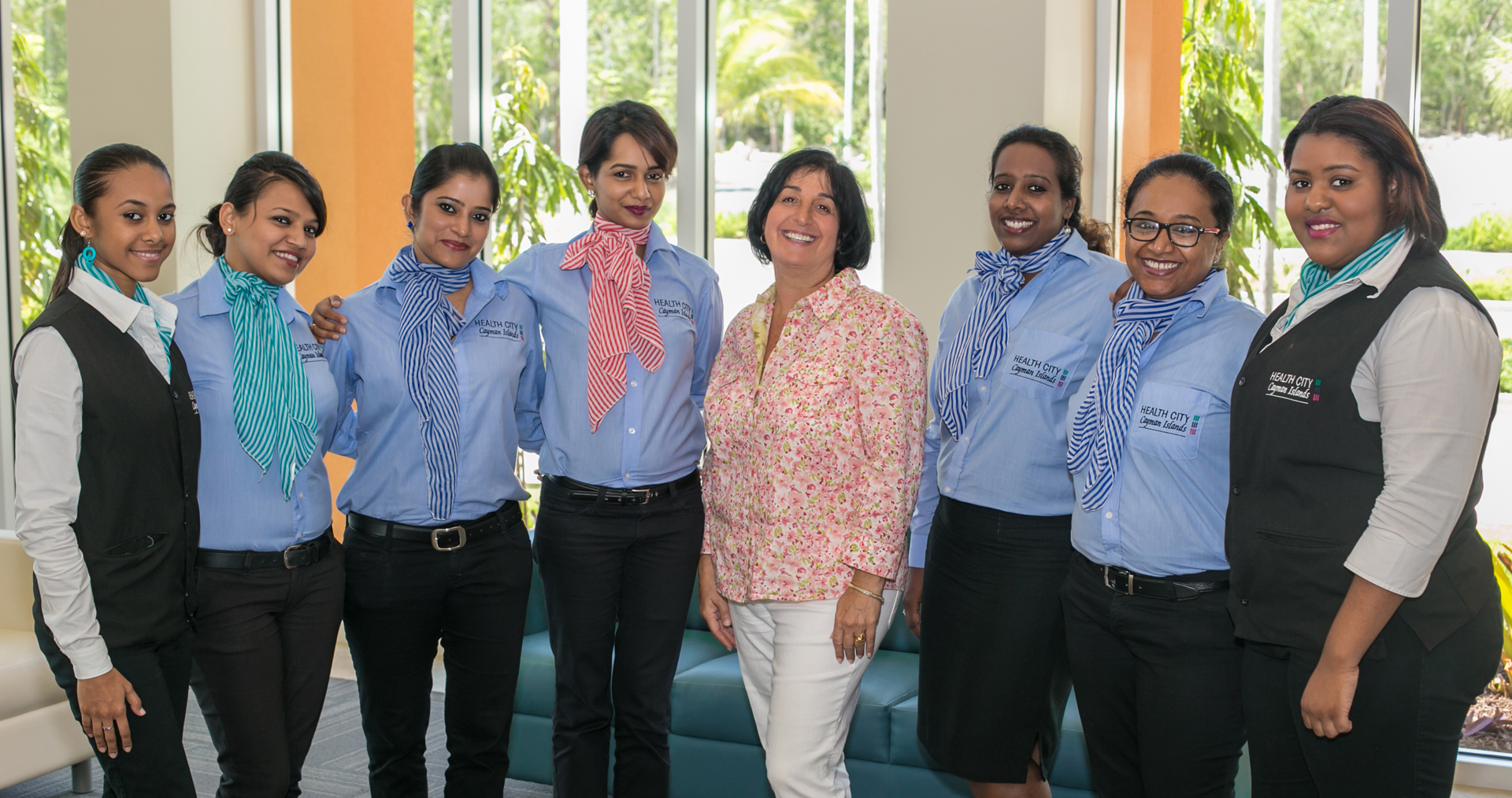 Health City Patient Care Team with Leader