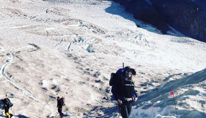Scaling heights for Have a Heart: Julia Stenson climbs for charity